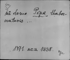 Kartoteka Słownika staropolskich nazw osobowych; Pip - Pir