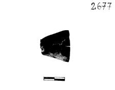 funnel object (Widuchowa) - chemical analysis