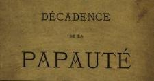 Décadence de la papauté