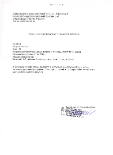 Kartoteka przypadków klinicznych chorób nerwowo-mięśniowych (2012) - opis 28/12