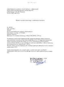 Kartoteka przypadków klinicznych chorób nerwowo-mięśniowych (2012) - opis 34/12
