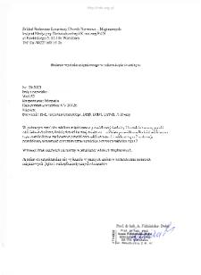 Kartoteka przypadków klinicznych chorób nerwowo-mięśniowych (2012) - opis 29/12