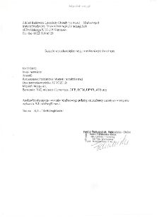 Kartoteka przypadków klinicznych chorób nerwowo-mięśniowych (2012) - opis 35/12