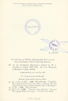 On the Lepidoptera Bhopalocera collected by W. J. Burchell in Brazil, 1825-1830. [p. 2]