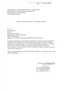 Files for neuromuscular diseases (2013) - nr 33/13