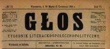 Głos : tygodnik literacko-społeczno-polityczny 1891 N.15