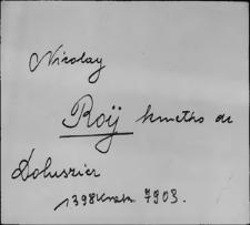 Kartoteka Słownika staropolskich nazw osobowych; Roj - Rol - Rom-