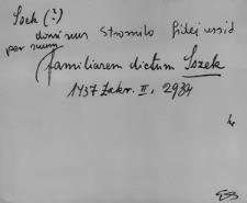 Kartoteka Słownika staropolskich nazw osobowych; Siek - Siel