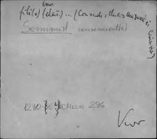 Kartoteka Słownika staropolskich nazw osobowych; Sien - Sień