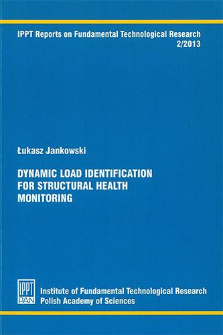 Dynamic load identification for structural health monitoring
