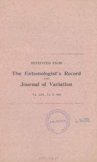 The Influence of Darwin upon Entomology