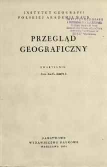 Przegląd Geograficzny T. 46 z. 2 (1974)