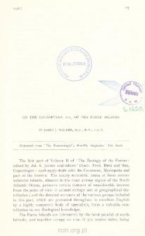 On the Coleoptera, etc., of the Faroe Islands