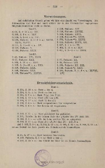 Druckfehlerverzeichnis
