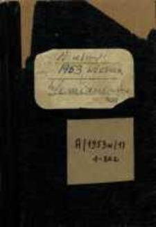 Zeszyty z badań gwarowych; A/1953w/1