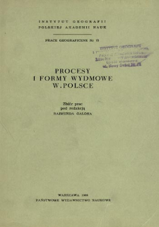 Procesy i formy wydmowe w Polsce = Dune processes and forms in Poland = Èolovye processy i formy rel'efa v Pol'še