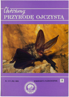 Localities of protected and rare fungi species in Ciężkowice-Rożnów Landscape Park