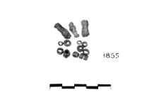 bead necklace (Brześć Kujawski) - chemical analysis