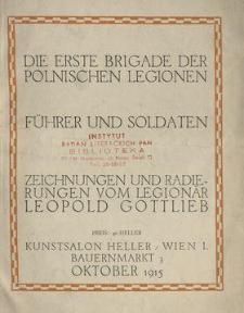Die erste Brigade der polnischen Legionen : Führer und Soldaten