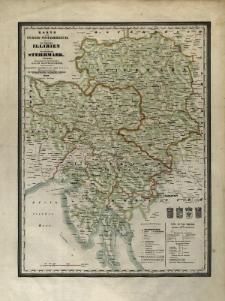 Erster typometrischer Atlas oder Austria : in 15 Karten in Farbruck [...]