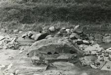 The so-called Mieszko III the Old and Mieszko Mieszkowic tomb, season 1988, cross section