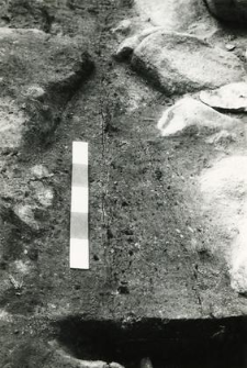 Grób 1-89. część zachodnia przed eksploracją