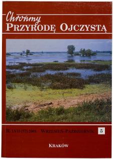 Porosty chronione i zagrożone na terenie Wiśnicko-Lipnickiego Parku Krajobrazowego (Pogórze Wiśnickie)