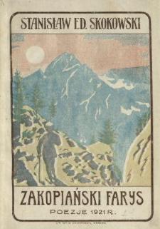Zakopiański Farys : zbiór poezji