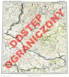 Przeglądowa mapa hydrograficzna Polski 1:500 000. Ark. Warszawa-Zachód