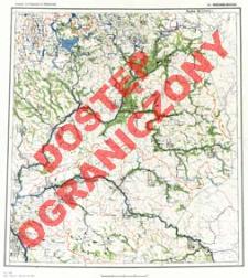 Przeglądowa mapa hydrograficzna Polski : 1:500 000. Ark. Warszawa Wschód