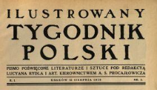 Ilustrowany Tygodnik Polski 1915 N.3