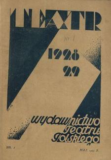 Teatr : wydawnictwo Teatru Polskiego 1928/1929 N.8
