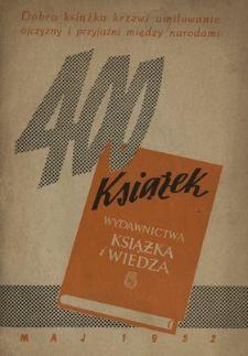 400 książek : maj 1952 : [katalog]