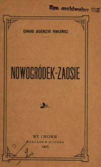 Nowogródek-Zaosie