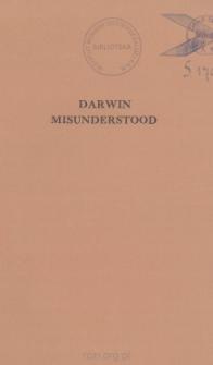 Darwin Misunderstood: Charles Darwin, the Fragmentary Man by Geoffrey West[recenzja]