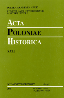 Sources Published by the Society of the Lovers of Cracow's History and Relics of the Past