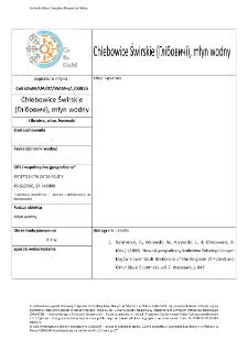 Chlebowice Świrskie (Глібовичі), młyn wodny