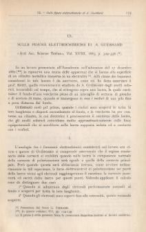 Sulle figure alettrochimiche di A. Guebhard