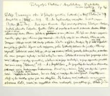 Filozofia Platona i Arystotelesa : Zima 1906/7. 1 g.[odzina] tyg.[odniowo] od 6 do 7 wieczorem. 1.Semestr zimowy