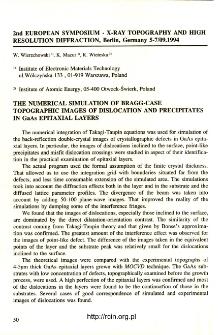 Udział pracowników ITME w konferencjach 1995 T.23 nr 1