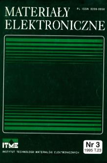 Spis treści 1995 T.23 nr3