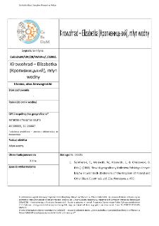 Kirowohrad – Elizabetka (Кропивницький), młyn wodny