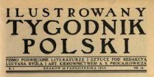 Ilustrowany Tygodnik Polski 1915 N.13