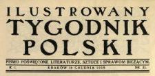 Ilustrowany Tygodnik Polski 1915 N.21