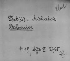 Kartoteka Słownika staropolskich nazw osobowych; Wab - Wap-