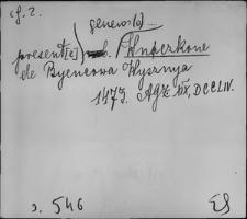 Kartoteka Słownika staropolskich nazw osobowych; Wnę - Wojt
