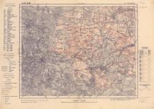 A 47 B 28, 501. Bytom-Będzin : podziałka 1:100.000