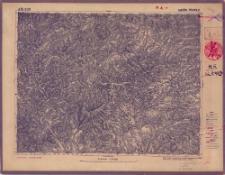 A 50 B 29 Maków-Podwilk : podziałka 1:100.000