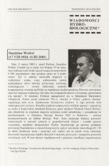 Stanisław Wróbel (17 VIII 1924-11 III 2003)
