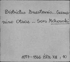 Kartoteka Słownika Antroponimii Polski od XVI do XVIII w.; Mc - Miś Mysz